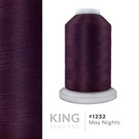 May Nights # 1232 Iris Trilobal Polyester Machine Embroidery & Quilting Thread - 5500 Yds THUMBNAIL