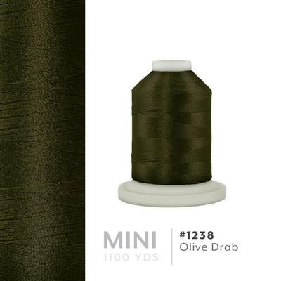 Olive Drab # 1238 Iris Polyester Embroidery Thread - 1100 Yds MAIN