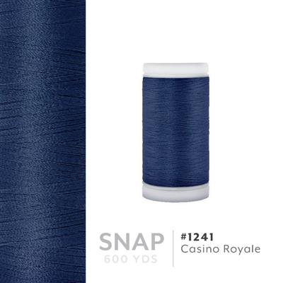 Casino Royale # 1241 Iris Polyester Embroidery Thread - 600 Yd Snap Spool MAIN