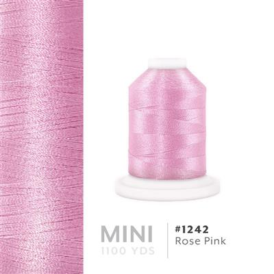 Rose Pink # 1242 Iris Polyester Embroidery Thread - 1100 Yds MAIN