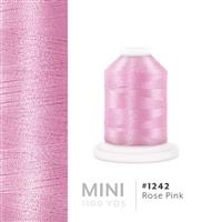 Rose Pink # 1242 Iris Polyester Embroidery Thread - 1100 Yds THUMBNAIL