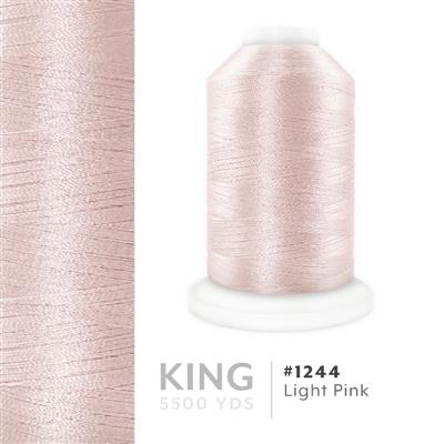 Light Pink # 1244 Iris Trilobal Polyester Thread - 5500 Yds MAIN