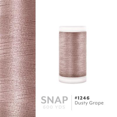 Dusty Grape # 1246 Iris Polyester Embroidery Thread - 600 Yd Snap Spool MAIN