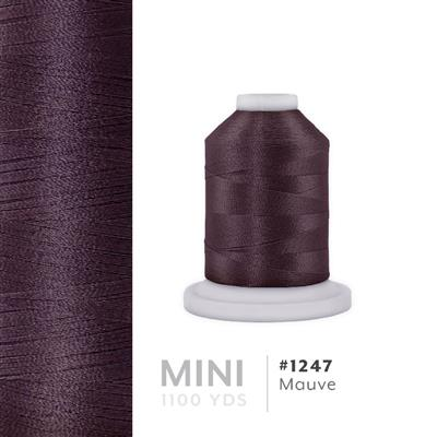 Mauve # 1247 Iris Polyester Embroidery Thread - 1100 Yds MAIN
