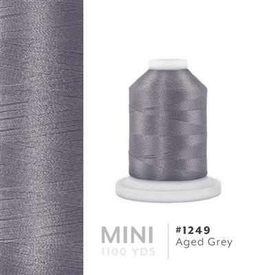 Aged Grey # 1249 Iris Polyester Embroidery Thread - 1100 Yds MAIN