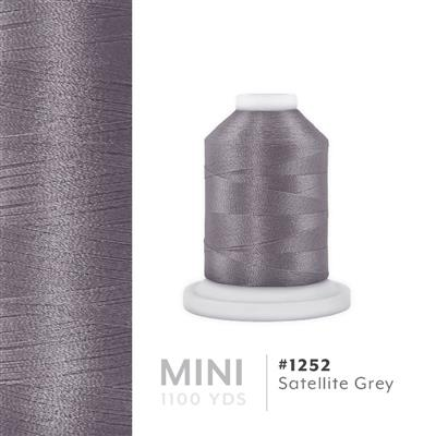 Satellite Grey # 1252 Iris Polyester Embroidery Thread - 1100 Yds MAIN
