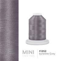 Satellite Grey # 1252 Iris Polyester Embroidery Thread - 1100 Yds THUMBNAIL