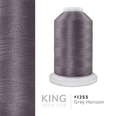 Grey Horizon # 1253 Iris Trilobal Polyester Thread - 5500 Yds MAIN