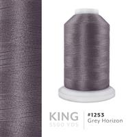Grey Horizon # 1253 Iris Trilobal Polyester Machine Embroidery & Quilting Thread - 5500 Yds THUMBNAIL