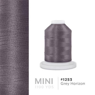 Grey Horizon # 1253 Iris Polyester Embroidery Thread - 1100 Yds MAIN