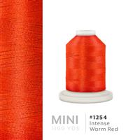 Intense Warm Red # 1254 Iris Polyester Embroidery Thread - 1100 Yds THUMBNAIL