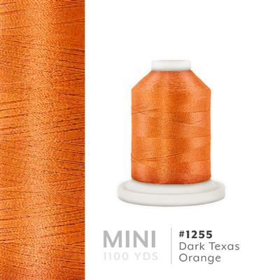 Dark Texas Orange # 1255 Iris Polyester Embroidery Thread - 1100 Yds MAIN