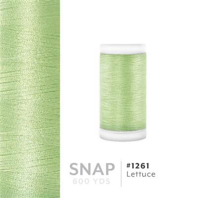 Lettuce # 1261 Iris Polyester Embroidery Thread - 600 Yd Snap Spool MAIN