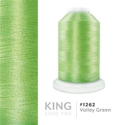 Valley Green # 1262 Iris Trilobal Polyester Thread - 5500 Yds MAIN