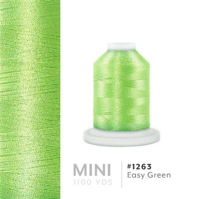 Easy Green # 1263 Iris Polyester Embroidery Thread - 1100 Yds MAIN