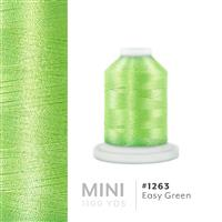 Easy Green # 1263 Iris Polyester Embroidery Thread - 1100 Yds THUMBNAIL