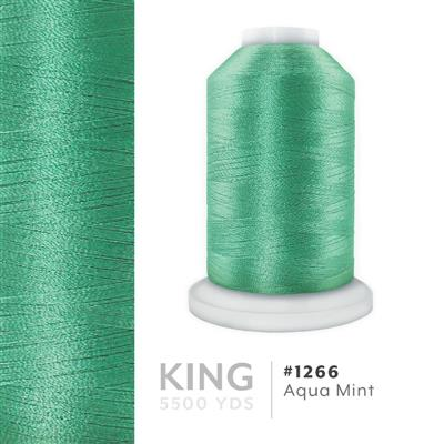 Aqua Mint # 1266 Iris Trilobal Polyester Thread - 5500 Yds MAIN