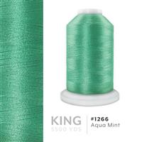 Aqua Mint # 1266 Iris Trilobal Polyester Machine Embroidery & Quilting Thread - 5500 Yds THUMBNAIL