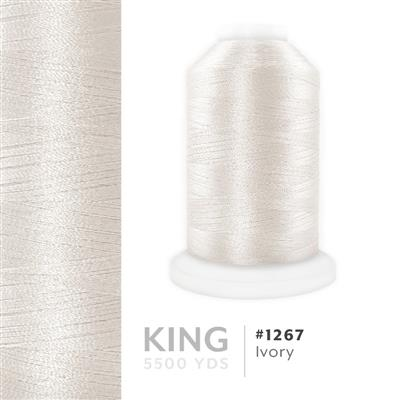 Ivory # 1267 Iris Trilobal Polyester Thread - 5500 Yds MAIN