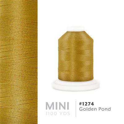 Golden Pond # 1274 Iris Polyester Embroidery Thread - 1100 Yds MAIN