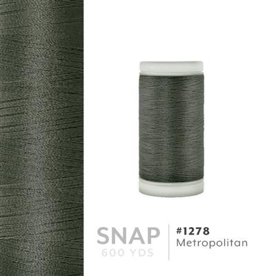 Metropolitan # 1278 Iris Polyester Embroidery Thread - 600 Yd Snap Spool MAIN