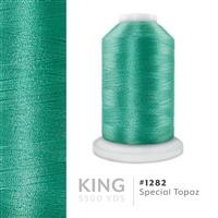 Special Topaz # 1282 Iris Trilobal Polyester Machine Embroidery & Quilting Thread - 5500 Yds THUMBNAIL