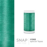 Special Topaz # 1282 Iris Polyester Embroidery Thread - 600 Yd Snap Spool THUMBNAIL