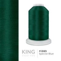 Special Blue # 1283 Iris Trilobal Polyester Machine Embroidery & Quilting Thread - 5500 Yds THUMBNAIL
