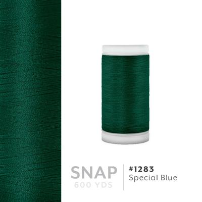 Special Blue # 1283 Iris Polyester Embroidery Thread - 600 Yd Snap Spool MAIN