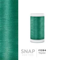 Topaz # 1284 Iris Polyester Embroidery Thread - 600 Yd Snap Spool THUMBNAIL