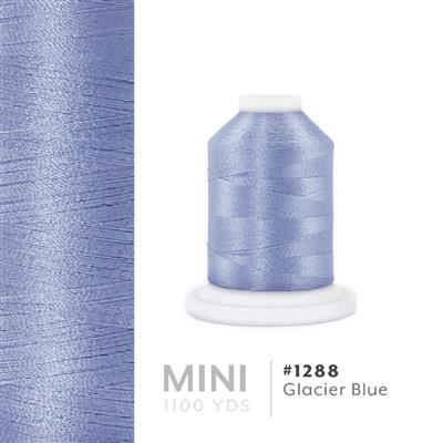 Glacier Blue # 1288 Iris Polyester Embroidery Thread - 1100 Yds MAIN