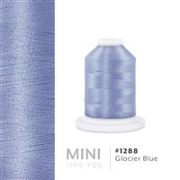 Glacier Blue # 1288 Iris Polyester Embroidery Thread - 1100 Yds THUMBNAIL