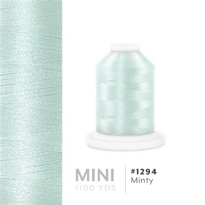 Minty # 1294 Iris Polyester Embroidery Thread - 1100 Yds MAIN