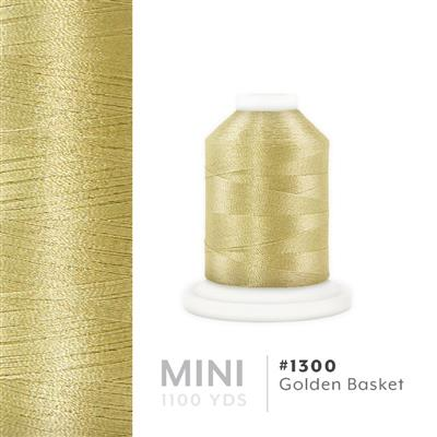 Golden Basket # 1300 Iris Polyester Embroidery Thread - 1100 Yds MAIN