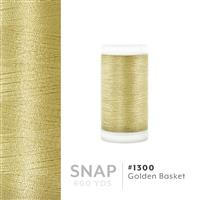 Golden Basket # 1300 Iris Polyester Embroidery Thread - 600 Yd Snap Spool THUMBNAIL