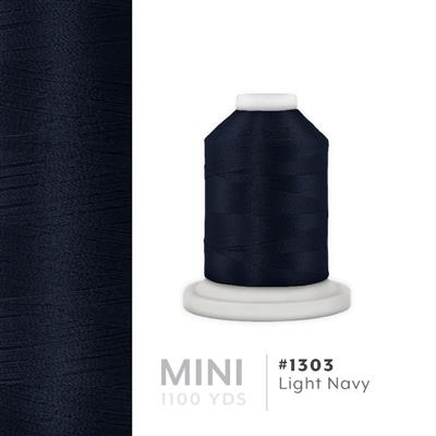 Lt. Navy # 1303 Iris Polyester Embroidery Thread - 1100 Yds MAIN