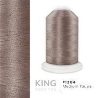 Med. Taupe # 1304 Iris Trilobal Polyester Machine Embroidery & Quilting Thread - 5500 Yds THUMBNAIL