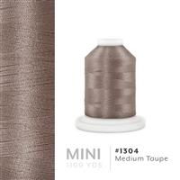 Med. Taupe # 1304 Iris Polyester Embroidery Thread - 1100 Yds THUMBNAIL