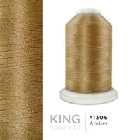 Amber # 1306 Iris Trilobal Polyester Machine Embroidery & Quilting Thread - 5500 Yds THUMBNAIL