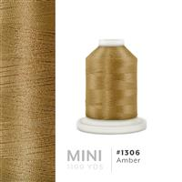 Amber # 1306 Iris Polyester Embroidery Thread - 1100 Yds THUMBNAIL