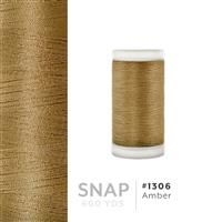 Amber # 1306 Iris Polyester Embroidery Thread - 600 Yd Snap Spool THUMBNAIL