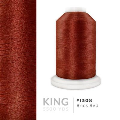 Brick Red # 1308 Iris Trilobal Polyester Thread - 5500 Yds MAIN