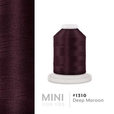 Deep Maroon # 1310 Iris Polyester Embroidery Thread - 1100 Yds MAIN