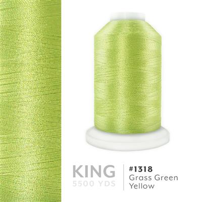 Grass Green Yellow # 1318 Iris Trilobal Polyester Thread - 5500 Yds MAIN