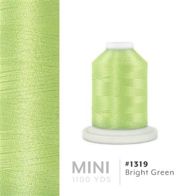 Bright Green # 1319 Iris Polyester Embroidery Thread - 1100 Yds MAIN
