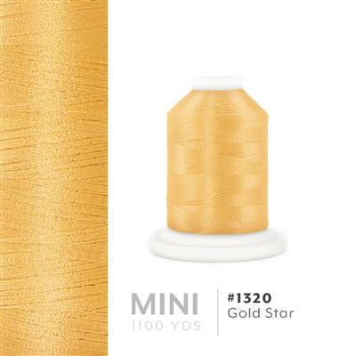 Gold Star # 1320 Iris Polyester Embroidery Thread - 1100 Yds MAIN
