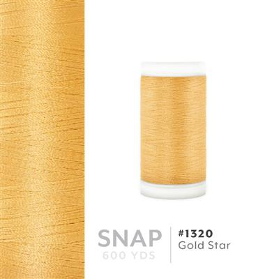 Gold Star # 1320 Iris Polyester Embroidery Thread - 600 Yd Snap Spool MAIN