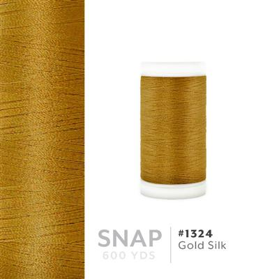 Gold Silk # 1324 Iris Polyester Embroidery Thread - 600 Yd Snap Spool MAIN