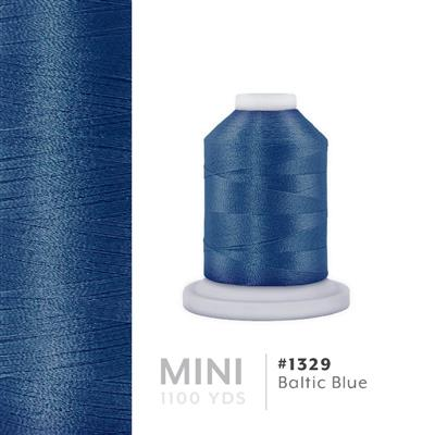 Baltic Blue # 1329 Iris Polyester Embroidery Thread - 1100 Yds MAIN