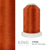 Burnt Orange # 1330 Iris Trilobal Polyester Machine Embroidery & Quilting Thread - 5500 Yds THUMBNAIL